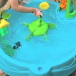 Water Table For Toddlers to Beat The Heat | Step2 Duck Pond Water Table Toy Review