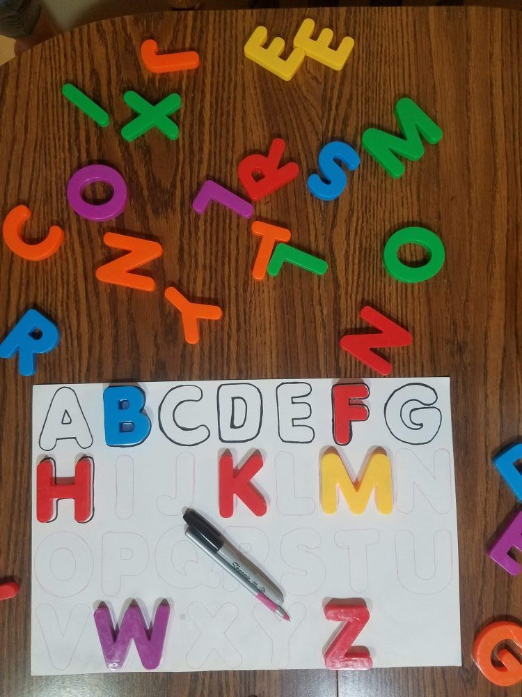 large magnet letters