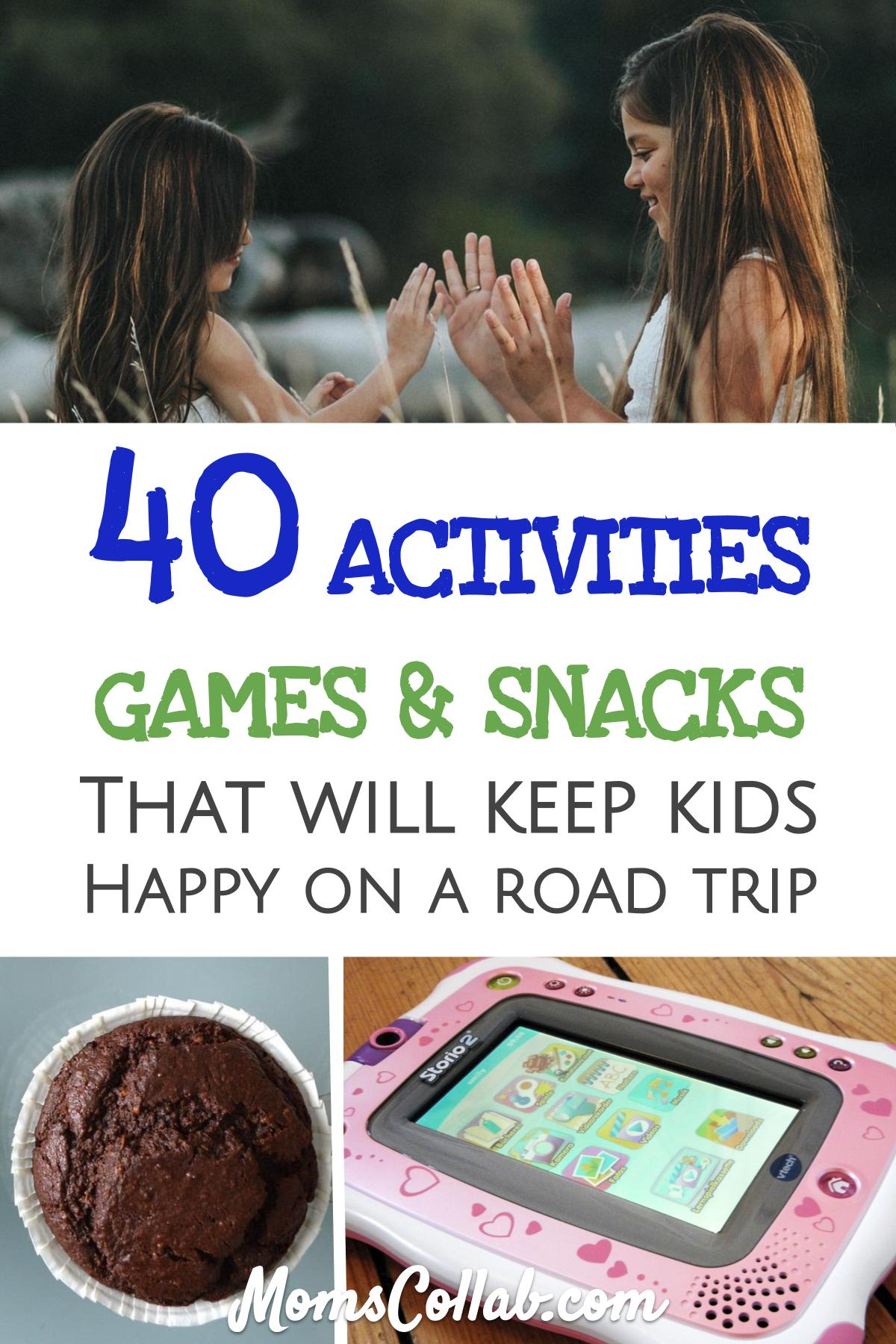 40 road trip activities for kids