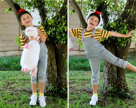 DIY Agnes Despicable Me Costume