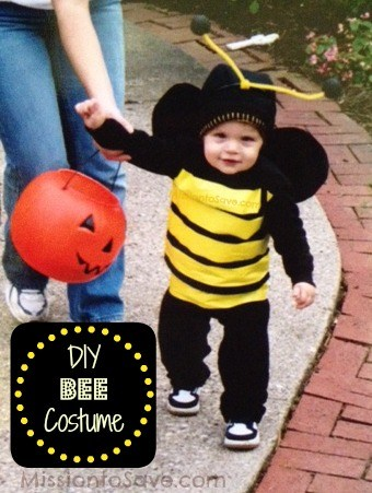 DIY Bumble Bee Costume