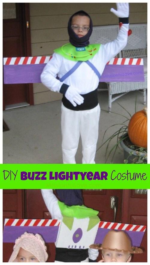 DIY Buzz Lightyear Costume