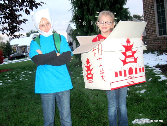 DIY Chinese Takeout Costume