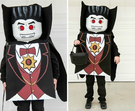 DIY Lego Lord Vampyre Costume