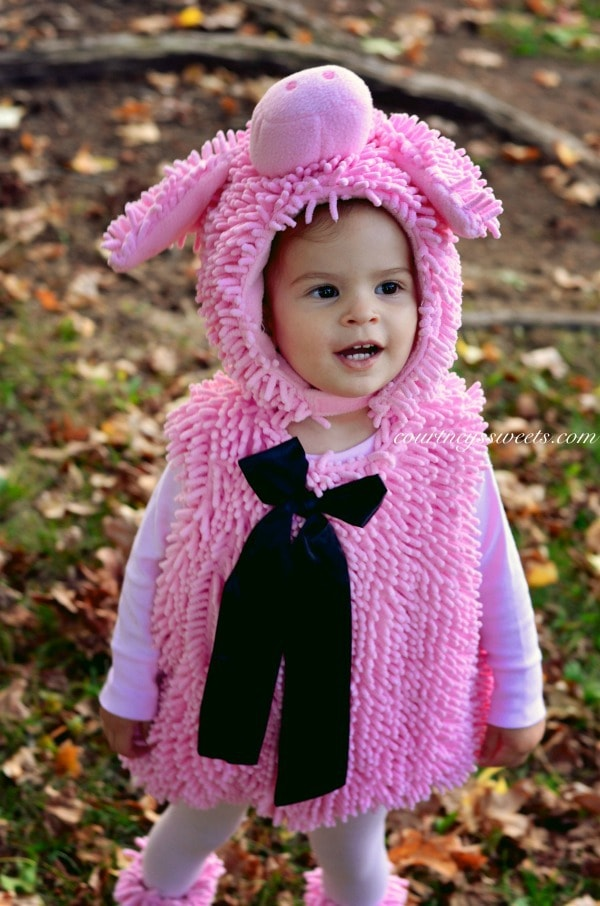 DIY Little Pink Piggy Costume