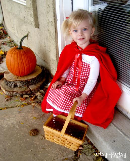 DIY Little Red Riging Hood Costume