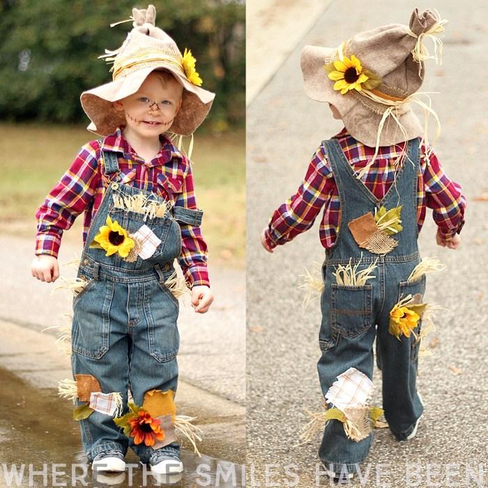 DIY Scarecrow Costume For Kids