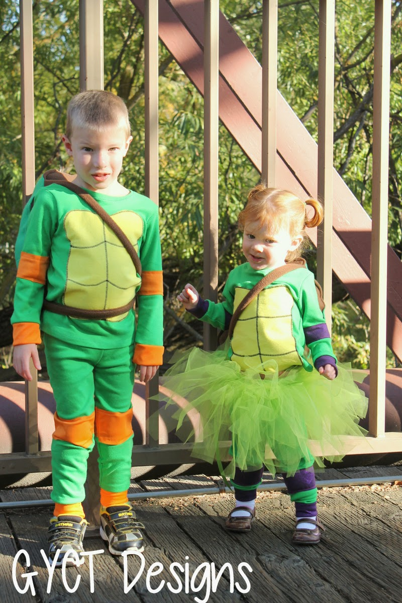 DIY TMNT Costumes for Kids