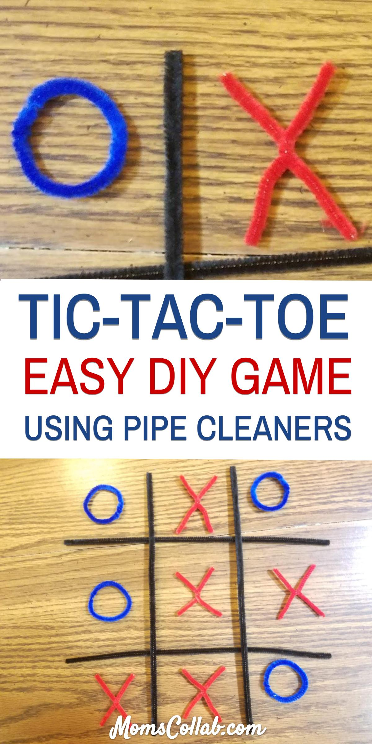 diy tic tac toe