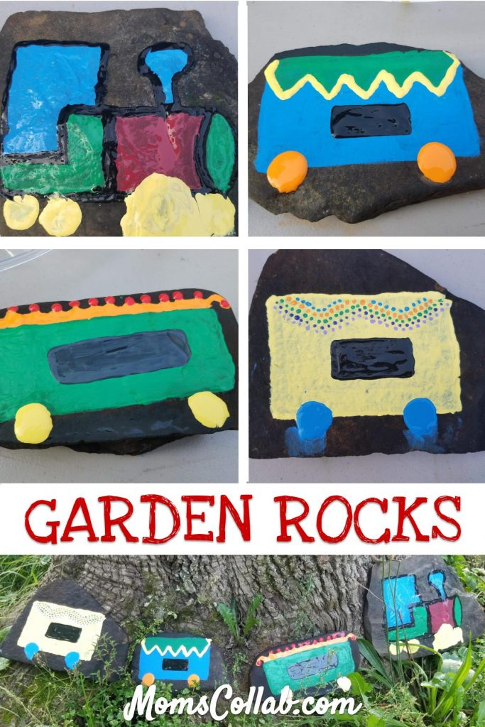 garden rocks painted diy