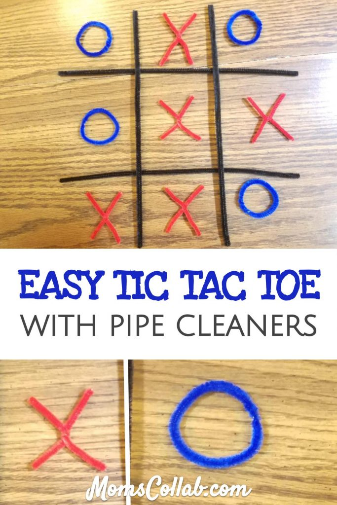 pipe cleaner tic tac toe