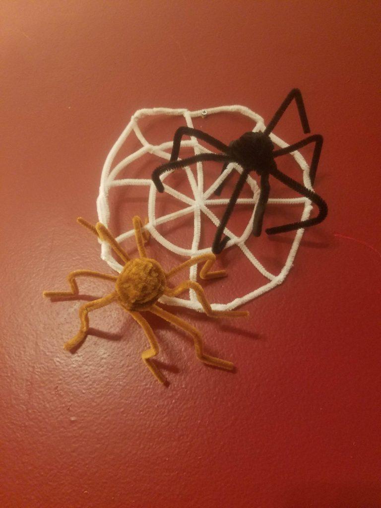 spooky diy halloween spiders