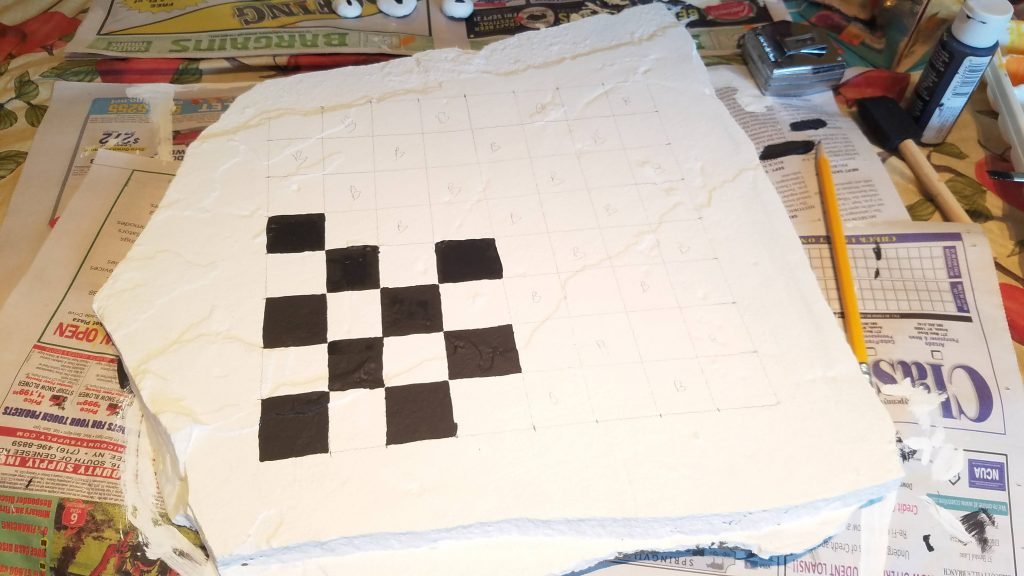 diy checkerboard