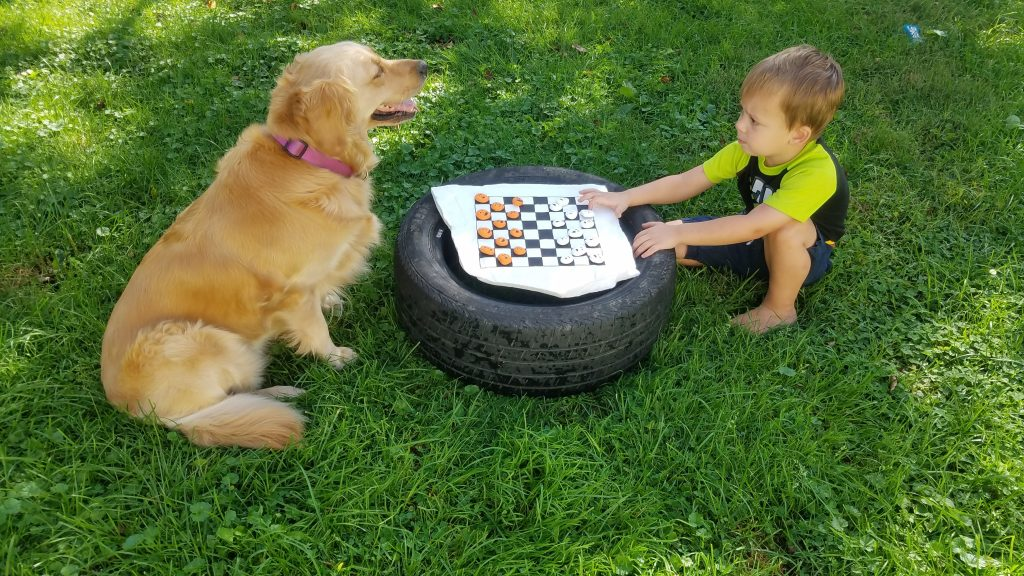 diy checkers