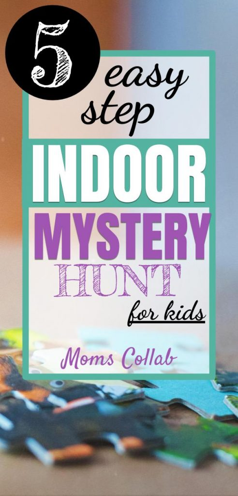 indoor mystery scavenger hunt