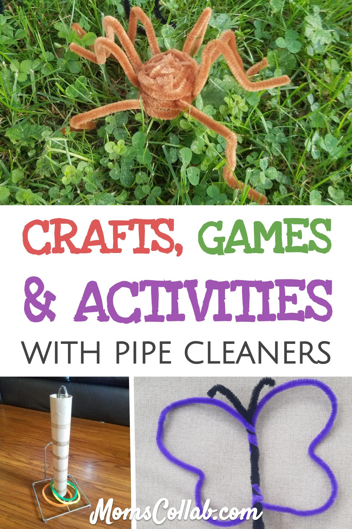 pipe cleaner crafts games and activities