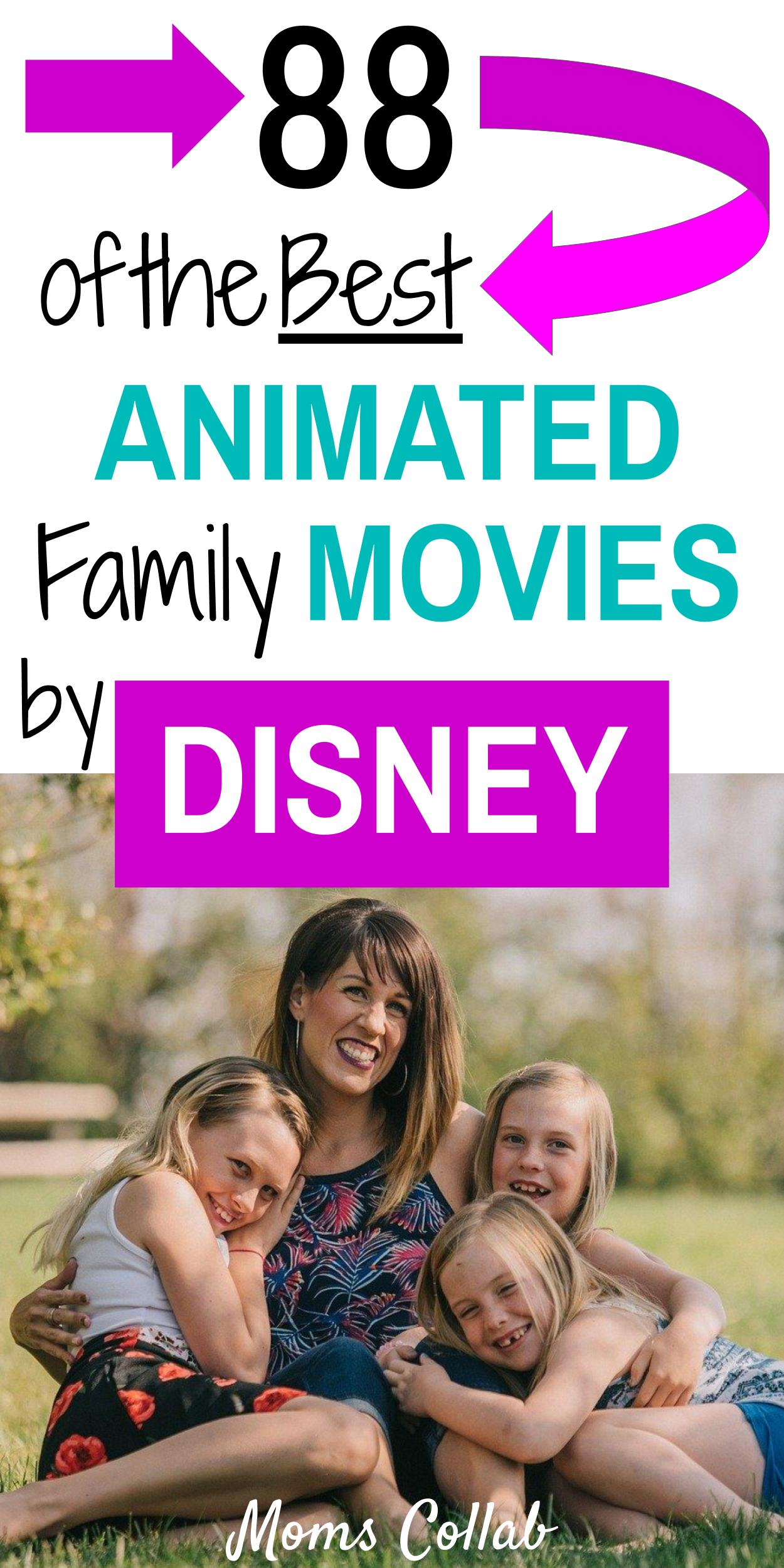 Best family movies by Disney