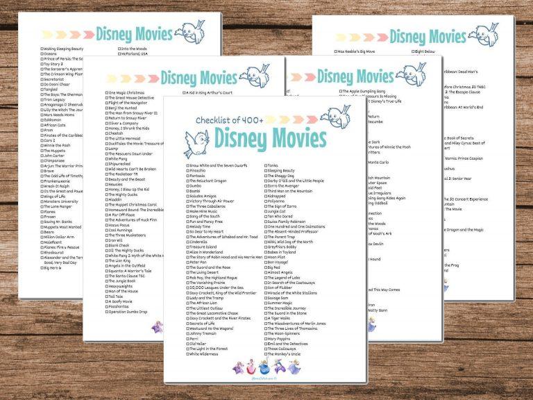 Shop Disney Movies List