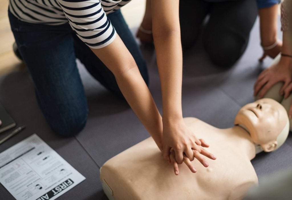 CPR, AED and First Aid Certification Course