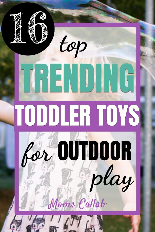 Trending Summer Outdoor Toys for Toddlers