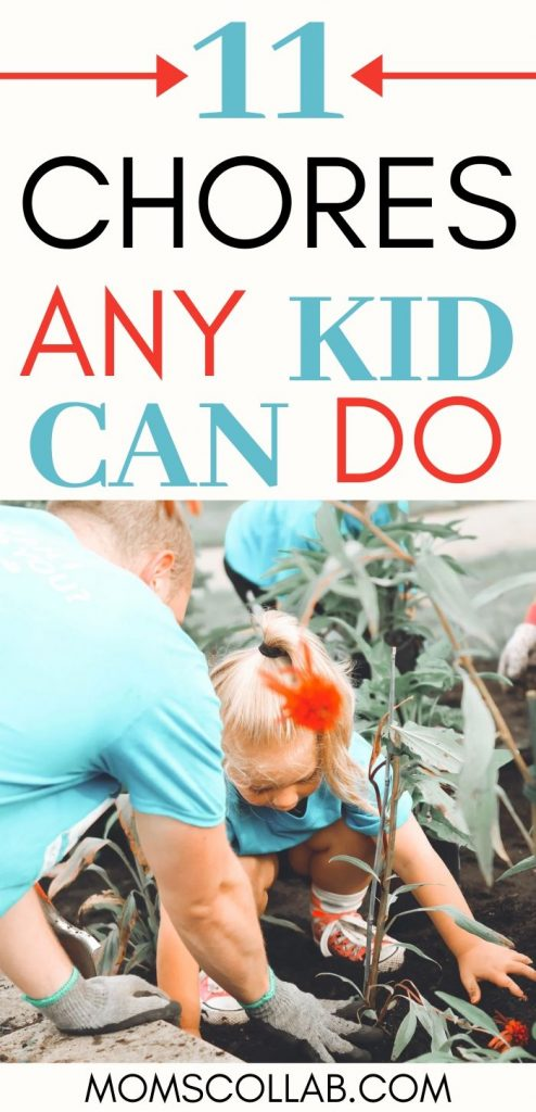 Chores Any Kid Can Do