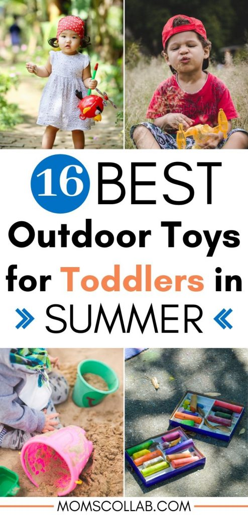 Best Outdoor Toys for Toddlers in Summer