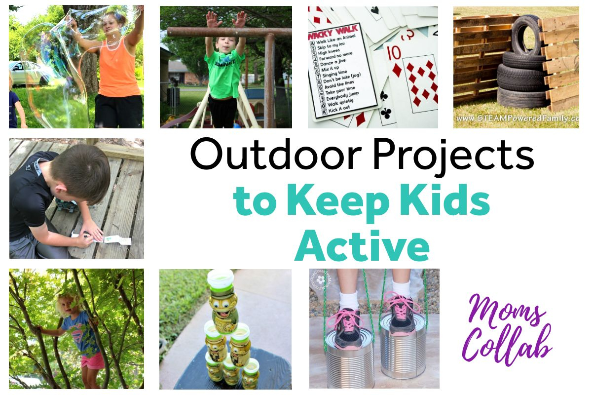 Outdoor Projects to Keep Kids Active