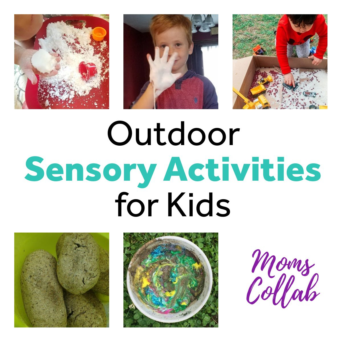 Outdoor Sensory Activities