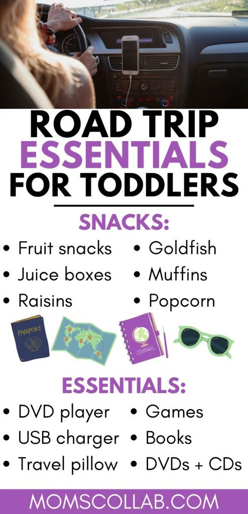 Road Trip Essentials for Toddlers