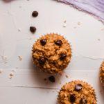 Easy Chocolate Peanut Butter Oatmeal Muffins Recipe