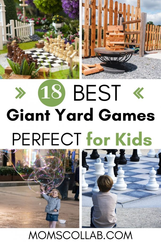 Giant Yard Games for Kids