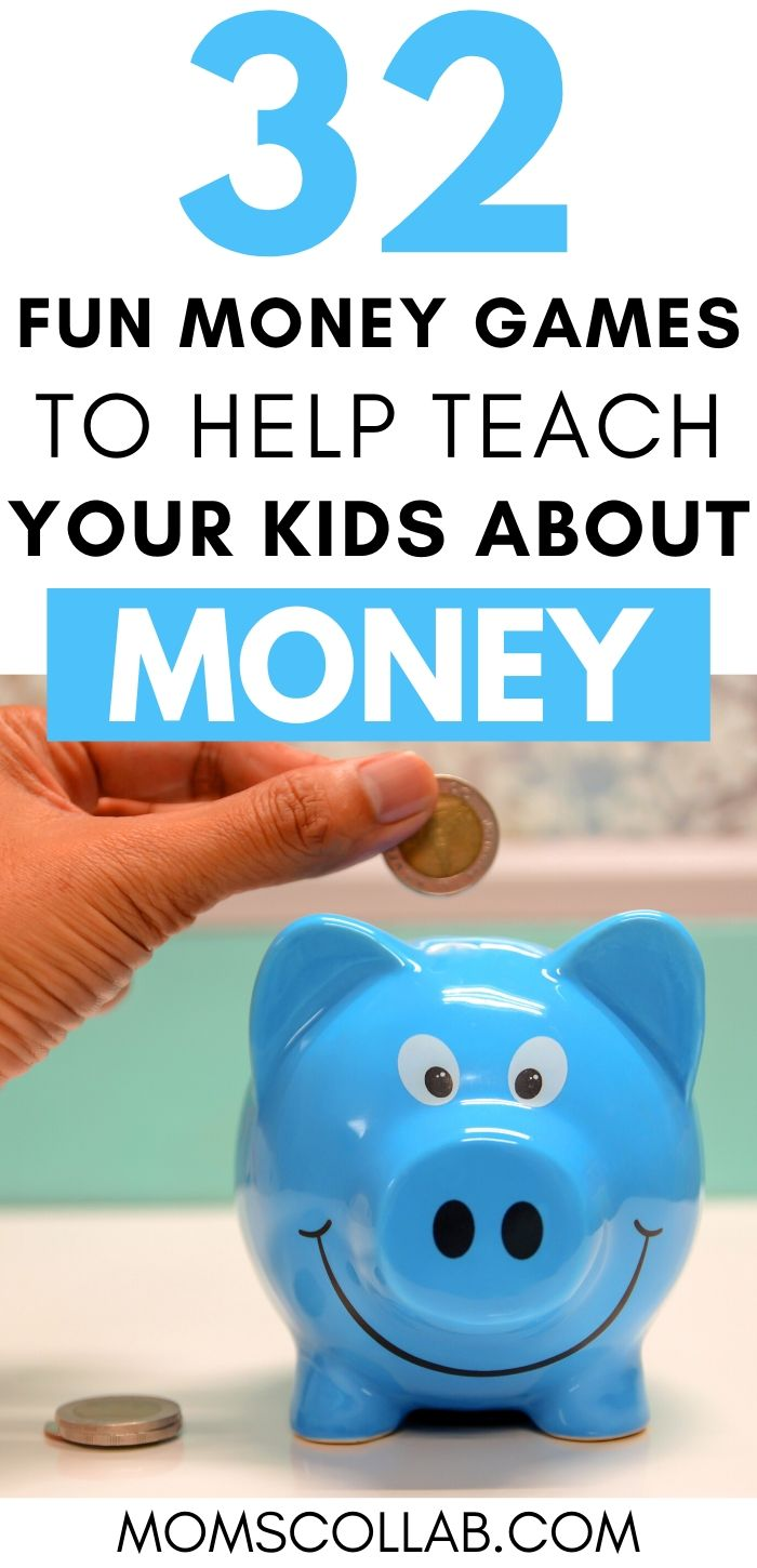 32 Money Games for Kids