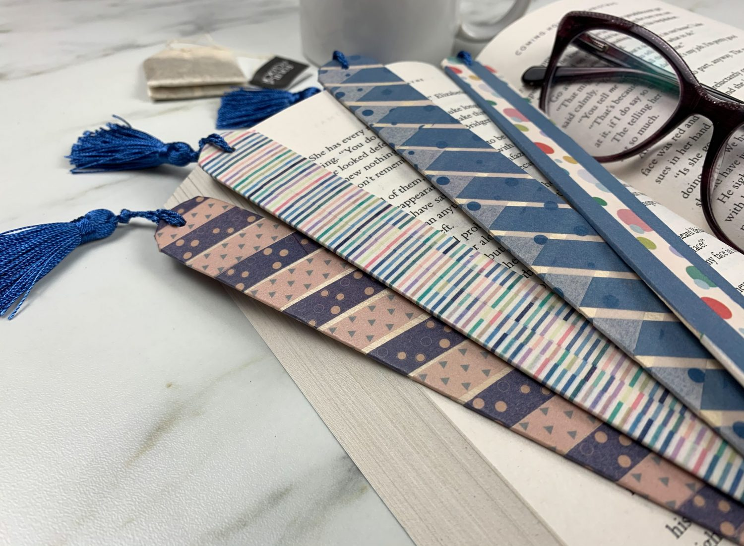 Easy DIY Bookmark Tutorial with Washi Tape
