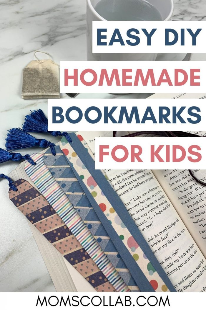 Easy DIY Homemade Bookmarks for Kids