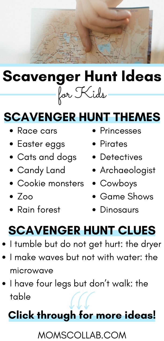 5 Steps To An Unforgettable Indoor Scavenger Hunt Moms Collab