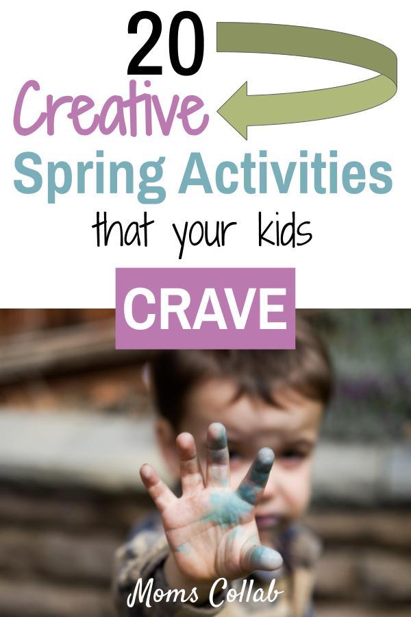 Spring activities that kids crave