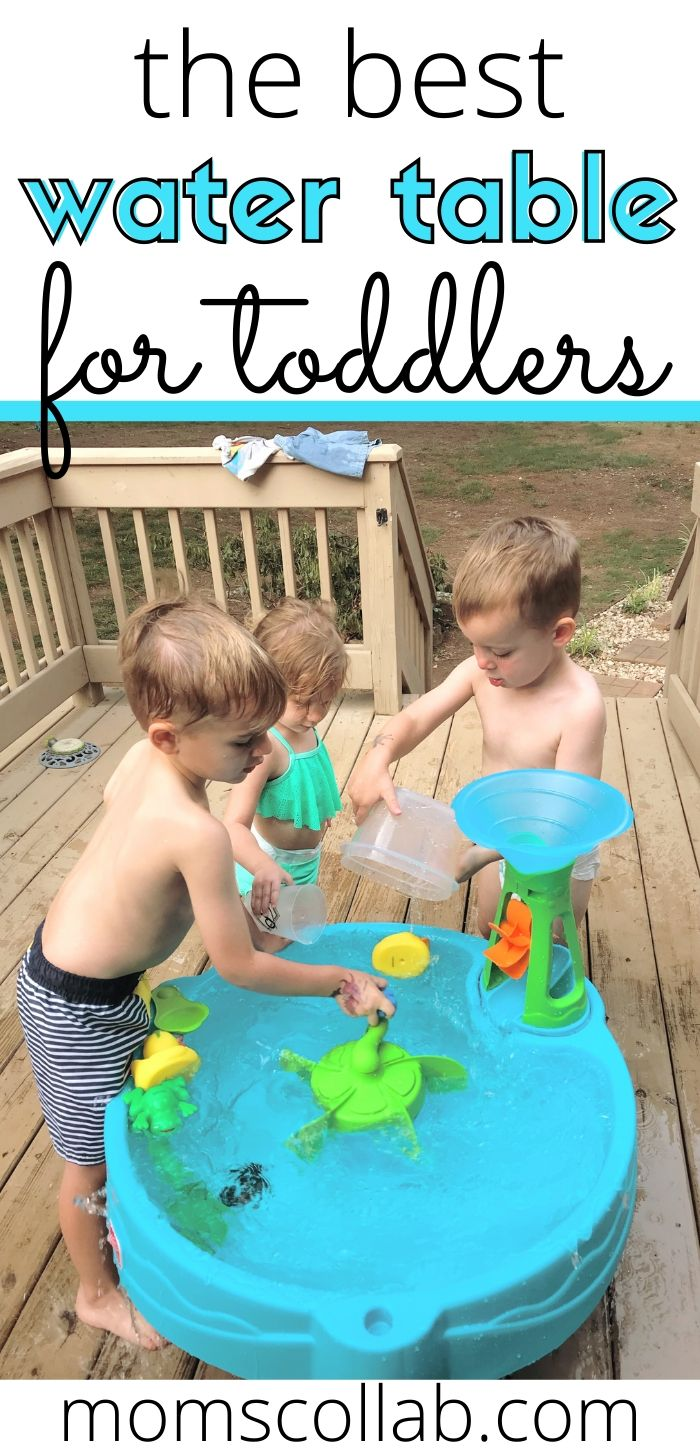 The Best Water Table for Toddlers