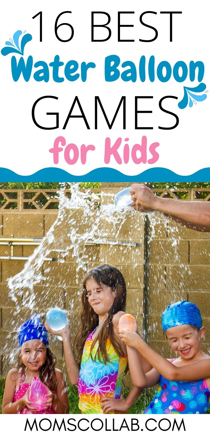 16 Best Water Balloon Games for Kids in Summer