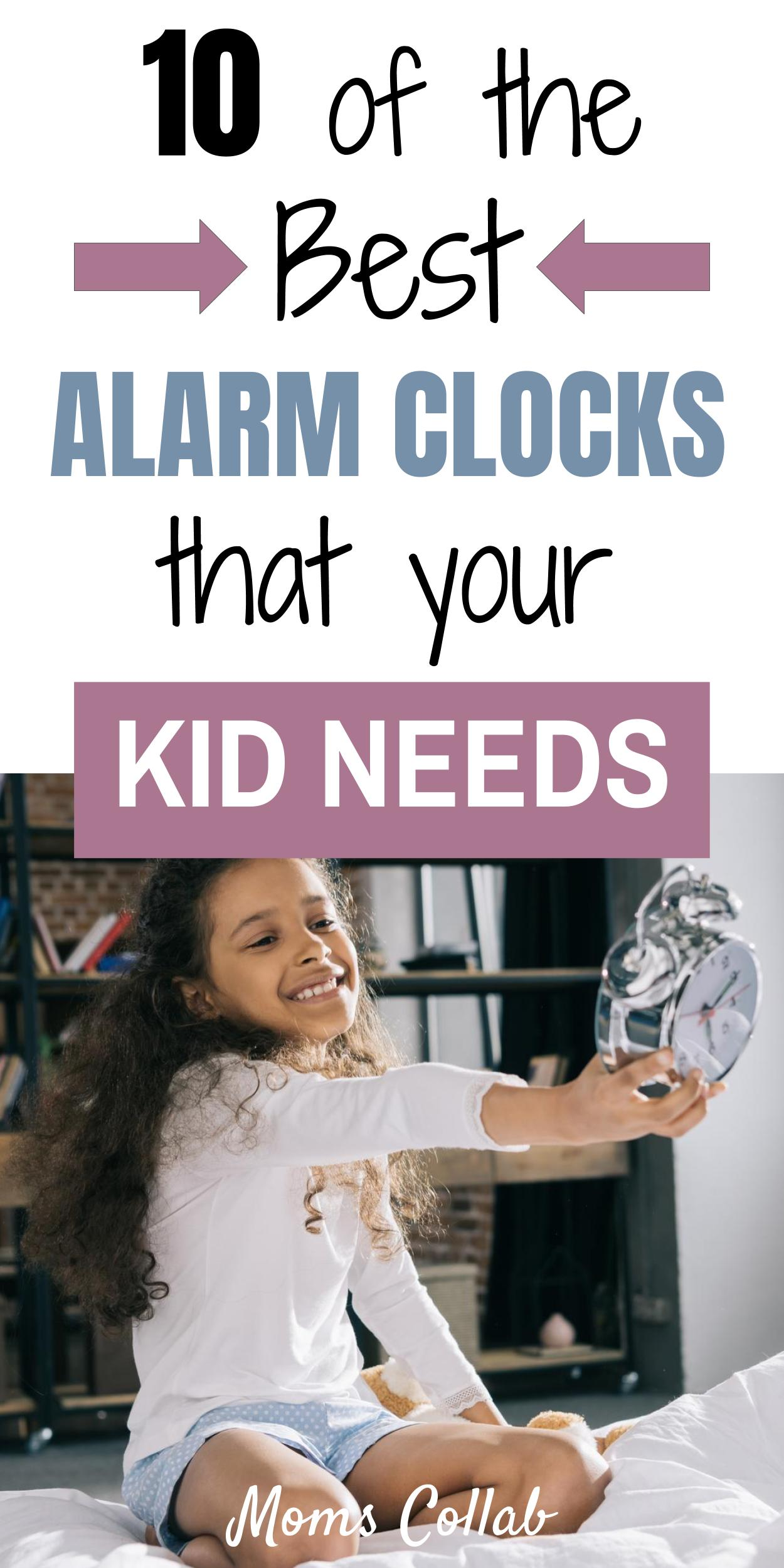 best alarm clocks for kids