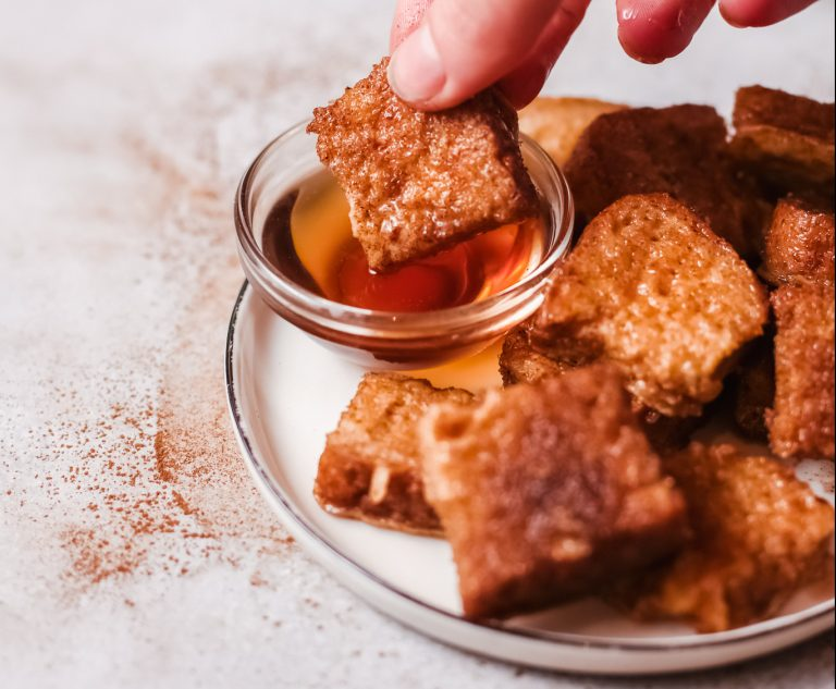French Toast Nuggets Perfect Finger Food for Kids!