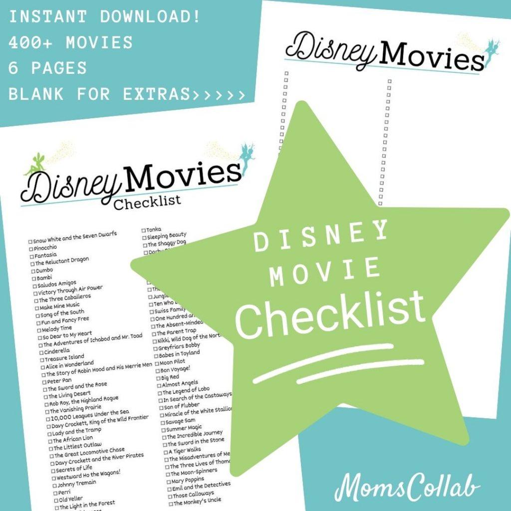 Disney Movie List Fairies Design